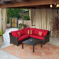 Northridge 2 Piece Sectional Sofa Set with Cushions