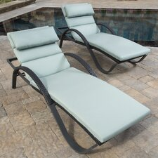 Great price Northridge Chaise Lounge with Cushion (Set of 2)