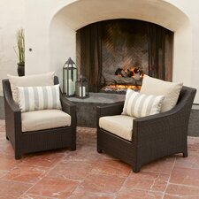 Bargain Northridge Club Chair with Cushions (Set of 2)