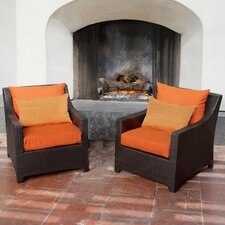 2017 Sale Northridge Club Chair with Cushions (Set of 2)