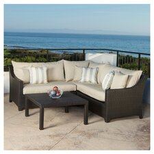 Northridge 4 Piece Deep Seating Group with Cushions