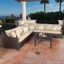 Modern Northridge 6 Piece Deep Seating Group with Cushions