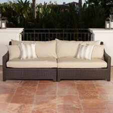 Cheap Northridge Patio Sofa with Cushions