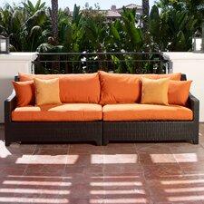 Best Choices Northridge Patio Sofa with Cushions