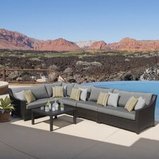 Northridge 6 Piece Setting Group with Cushions