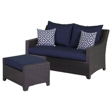 Northridge 2 Piece Deep Seating Group with Cushion