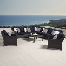 Northridge 9 Piece Deep Seating Group with Cushion