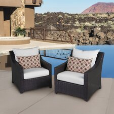 Northridge Club Chair with Cushion (Set of 2)