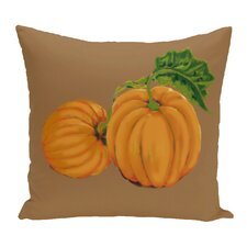Greenmont Pumpkin Patch Holiday Outdoor Throw Pillow