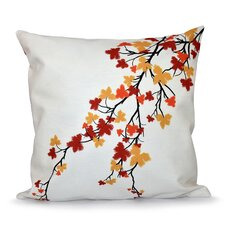 Marshallton Hues Floral Outdoor Throw Pillow
