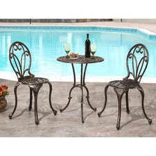 Broadview 3 Piece Bistro Set