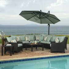 Northridge 9 Piece Deep Seating Group with Cushions