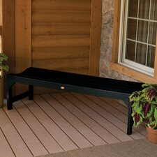Amelia Backless Synthetic Wood Picnic Bench