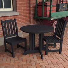 Amelia 3 Piece Dining Set
