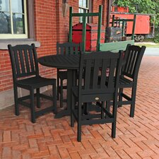 Amelia 5 Piece Counter Height Dining Set