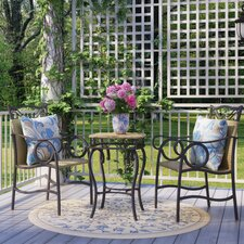 Meetinghouse 3 Piece Bistro Set