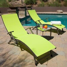 Northridge Folding Chaise Lounge