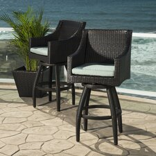 Northridge 30� Bar Stool with Cushion (Set of 2)