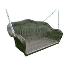 Wyndmoor Wicker Porch Swing