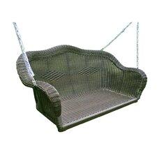 Best #1 Wyndmoor Wicker Porch Swing