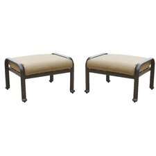 Lebanon Ottoman with Cushion (Set of 2)