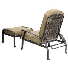 Lebanon Adjustable Club Chair with Ottoman