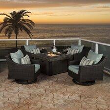 Northridge 5 Piece Deep Seating Group with Cushion