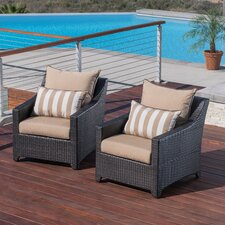 Northridge Armchair with Cushions (Set of 2)