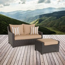 Purchase Northridge Loveseat and Ottoman with Cushions