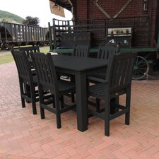Amelia 7 Piece Bar Height Dining Set