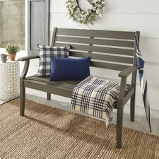 Brook Hollow Wooden Garden Bench
