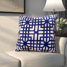 Vienna Indoor/Outdoor Geometric Throw Pillow