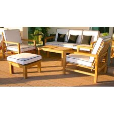 Topanga 5 Piece Deep Seating Group with Cushion