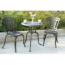 New Port 3 Piece Bistro Set