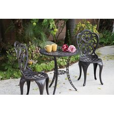 Comparison Hampton 3 Piece Bistro Set