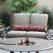 Santa Barbara Deep Seating Loveseat with Cushion
