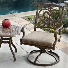 Santa Barbara Swivel Dining Arm Chair with Cushion