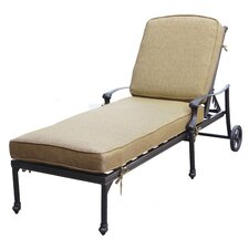 Today Only Sale Camino Real Chaise Lounge Frame with Cushion