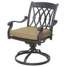 San Marcos Swivel Dining Arm Chair