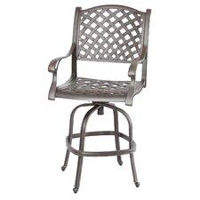 Best #1 Nassau Swivel Barstool with Cushion