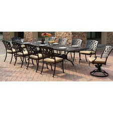 Ocean View 11 Piece Dining Set with Cushion