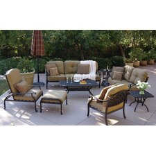 Nassau 8 Piece Deep Seating Group with Cushion