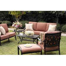 St Cruz 6 Piece Deep Seating Group with Cushion