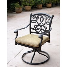 Santa Monica Swivel Dining Arm Chair