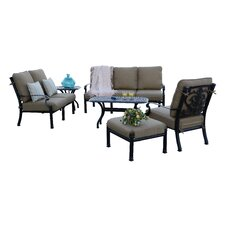 Santa Barbara 6 Piece Deep Seating Group with Cushions