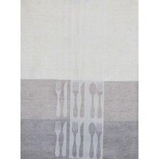 Cutlery Jacquard Tea Towel (Set of 2)