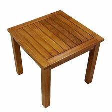 Best Choices Teak Square Side Table