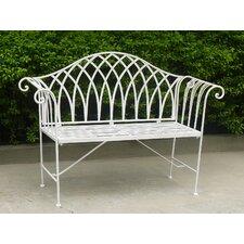 Megrez 2 Seater Steel Garden Bench