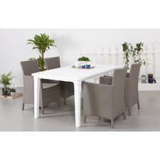 Oxford 4 Seater Dining Set with Cushions