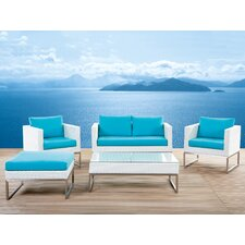 Crema 5 Seater Sofa Set